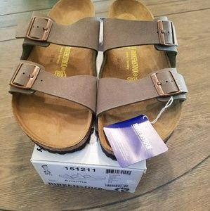 NWT Birkenstock Arizona Stone sandal  size 11 EU44